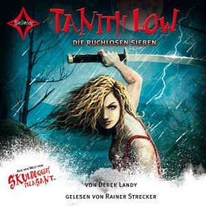 Tanith Low - Die ruchlosen Sieben von Derek Landy, Cover mit freundlicher Genehmigung von Hörcompany