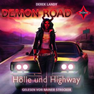 Demon Road - Hölle und Highway von Derek Landy, Cover mit freundlicher Genehmigung von Hörcompany